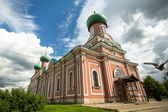Orthodox church in Tikhvin — Stock Photo