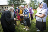 Celebrations commemorating the Rev. Anthony Dymsky — Stock Photo