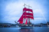 Festival Scarlet Sails — Stock Photo