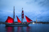Festival Scarlet Sails — Stock Photo