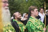Celebraciones que conmemoran el rev. anthony dymsky — Foto de Stock