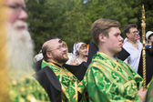 Celebrations commemorating the Rev. Anthony Dymsky — ストック写真