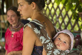Participants au cours du festival folklorique d'ivan-thé — Photo
