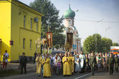 Participants Orthodox Religious Procession — Photo