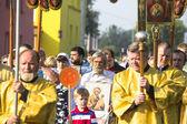 Participants Orthodox Religious Procession — Stock Photo