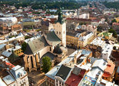 Cathedral in Lviv, Ukraine — Stock Photo