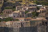 Greece, view of  Monemvasia island — Stock fotografie