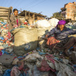 People working in sorting of plastic on the dump. — Stock Photo #51353171