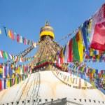 Bodhnath Stupa in Kathmandu, Nepal. — Stock Photo #51398167