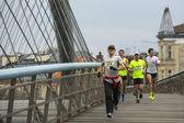 Maratona internacional de cracóvia. — Fotografia Stock