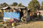 Poor people in Tripureshwor district — Foto Stock