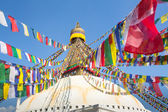 Bodhnath Stupa in Kathmandu, Nepal. — Stock Photo