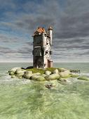 Island Tower — Stock Photo