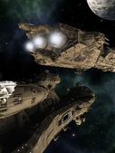 Battle Cruisers — Stockfoto