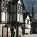 Постер, плакат: Medieval Town Watchman