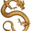 Chinese Gold Dragon — Stock Photo #27310213