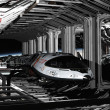 Shuttle Hanger Deck — Stockfoto #27394879