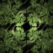 Stock Photo: Ivy Window Abstract Fractal Design