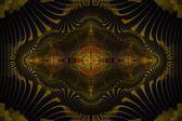 グラインダー抽象的なフラクタル デザイン — ストック写真