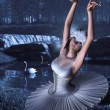 Swan Lake - Odette and Swans — Stock Photo