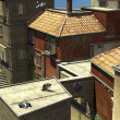 Italian Rooftop Scene — Stock Photo