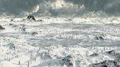 Icy Mountain Lakes — Photo