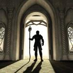 Постер, плакат: Dark Lord at the Threshold