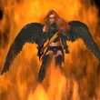 Angel of Fire — Stockfoto