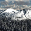 Snowy Mountain Landscape — Stock Photo