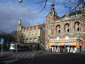 Hollanda, amsterdam. sabah oda. mart, 2008. — Stok fotoğraf