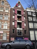 The Netherlands, Amsterdam. Typical Amsterdam architecture.March,2008. — 图库照片