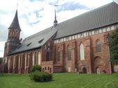 Konigsberg cathedral, Kaliningrad. July, 2012. — Stock Photo