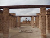 Remains of El Badi Palace in Marrakech, Morocco. Was built in the 16th century. — Stock Photo