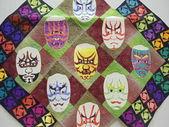 Colcha fest-2013. abra o festival internacional de retalhos em moscou. abril de 2013. — Foto Stock