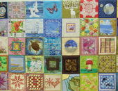 Quilt Fest-2013. Open International Festival of Patchwork in Moscow. April,2013. — Stock Photo