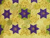 An element of a patchwork panel. Quilt Fest-2013. April, 2013. — Stock Photo