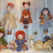 Moscow International Fair of Collectible Dolls and Teddy Bears. April, 2013. — Stockfoto