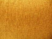 Background. Yellow velvet fabric. Close-up. Texture. — Stock Photo