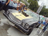 Retro Fest - the second festival of retro cars in Moscow. July, 2013. — Stockfoto