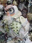 Christmas toys. Owl. — Stock Photo