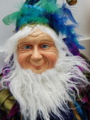 A kind toy dwarf. Christmas toys. — Foto Stock