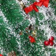 Stock Photo: Christmas tinsel background