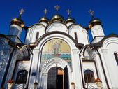 Nikolsky cathedral in  Pereyaslavl-Zalessky, Russia. August, 2014. — Stock Photo