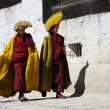 Tibet monks — Stock Photo