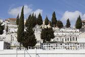 Vila mezarlıkta görünümünü franca de xira, portekiz — Stok fotoğraf
