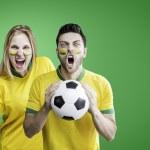 ������, ������: Brazilian couple celebrate