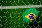 Incredibile gol brasiliano - america latina — Foto Stock