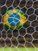 Amazing Brazilian Goal - South America — Stock Photo