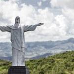 Cristo Redentor no rio de janeiro, Brasil — Fotografia Stock  #47615791