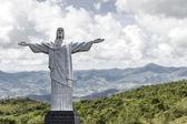 Christ the Redeemer in Rio de Janeiro, Brazil — Stock Photo